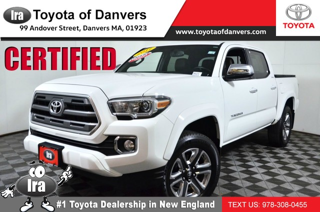 Certified Pre-Owned 2017 Toyota Tacoma Limited ****CERTIFIED***