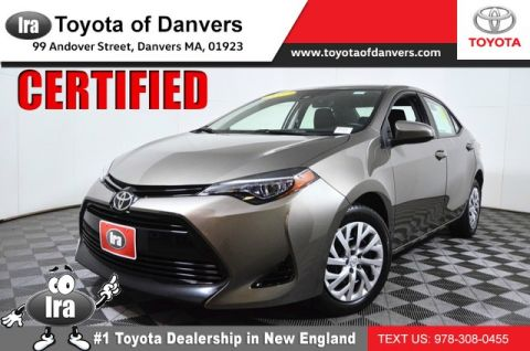 Certified Pre-Owned 2017 Toyota Corolla LE ***CERTIFIED*** Front Wheel Drive Sedan - In-Stock