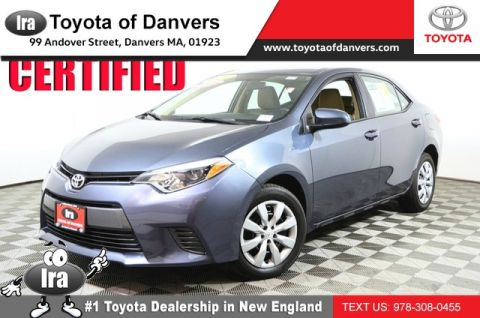 Certified Pre-Owned 2016 Toyota Corolla LE ***CERTIFIED*** Front Wheel Drive Sedan - In-Stock