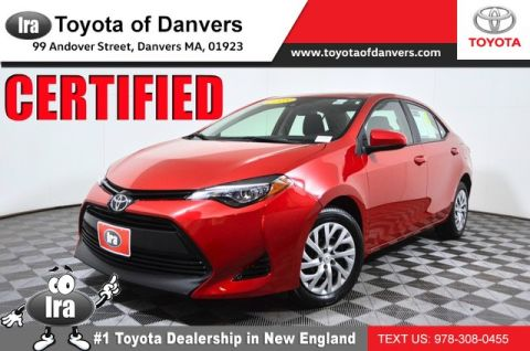 Certified Pre-Owned 2018 Toyota Corolla LE ***CERTIFIED***