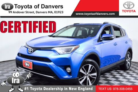 Certified Pre-Owned 2018 Toyota RAV4 XLE ***CERTIFIED*** All Wheel Drive SUV - In-Stock