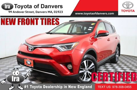 Certified Pre-Owned 2016 Toyota RAV4 XLE ***NEW FRONT TIRES*** All Wheel Drive SUV - In-Stock