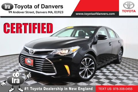 Certified Pre-Owned 2016 Toyota Avalon XLE ***CERTIFIED*** Front Wheel Drive Sedan - In-Stock
