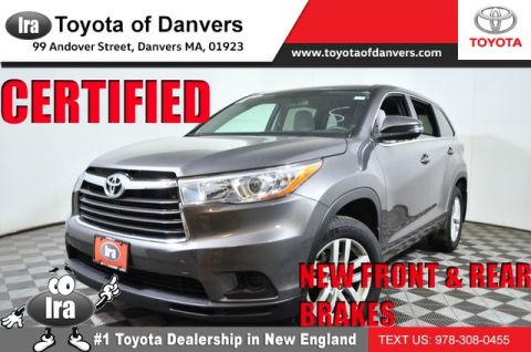 Certified Pre-Owned 2016 Toyota Highlander LE ***CERTIFIED***