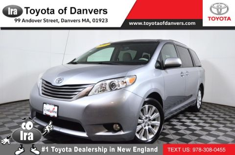 Certified Pre-Owned 2013 Toyota Sienna XLE All Wheel Drive Minivan/Van - In-Stock