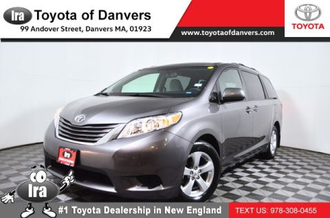 Certified Pre-Owned 2017 Toyota Sienna LE ***CERTIFIED*** Front Wheel Drive Minivan/Van - In-Stock