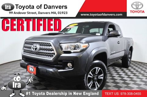 Certified Pre-Owned 2017 Toyota Tacoma TRD Sport ***CERTIFIED*** Four Wheel Drive Long Bed - In-Stock