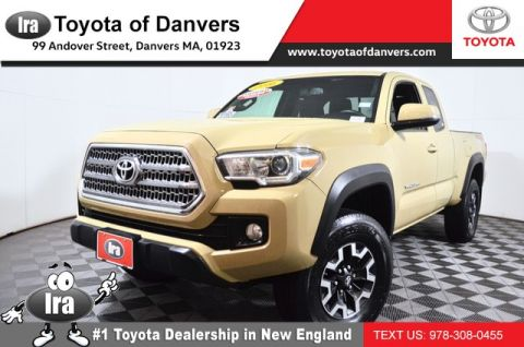 Certified Pre-Owned 2016 Toyota Tacoma TRD Off Road ***CERTIFIED*** Four Wheel Drive Long Bed - In-Stock