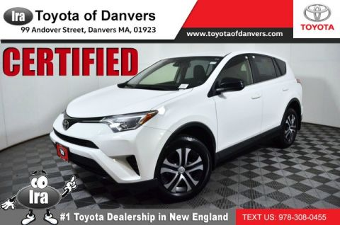 Certified Pre-Owned 2018 Toyota RAV4 LE ***CERTIFIED***