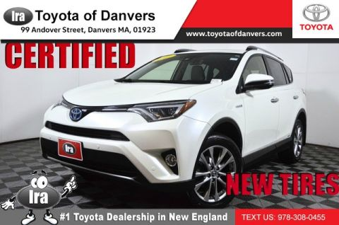 Certified Pre-Owned 2017 Toyota RAV4 Hybrid Limited ***CERTIFIED***