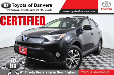 Certified Pre-Owned 2017 Toyota RAV4 Hybrid XLE ***CERTIFIED*** All Wheel Drive SUV - In-Stock